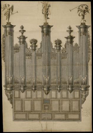 Projet d'orgue pour la primatiale de Nancy