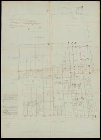 Plan des bâtiments extérieurs composant le monastère occupé ci-devant par …
