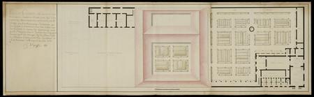 Plan général de tous les bâtiments, jardins et basse-cour qui composent le…