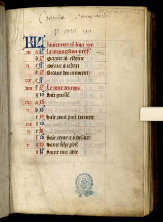 Heures de Notre-Dame de Pitié à l'usage de Toul