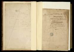 Ouvrages manuscrits du feu roi de Pologne Stanislas 1er, la plupart écrits…