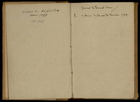 Journal de Durival l'aîné. 2 : 7 février 1746 - 29 décembre 1749