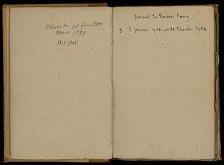 Journal de Durival l'aîné. 3 : 2 janvier 1750 - 20 décembre 1754