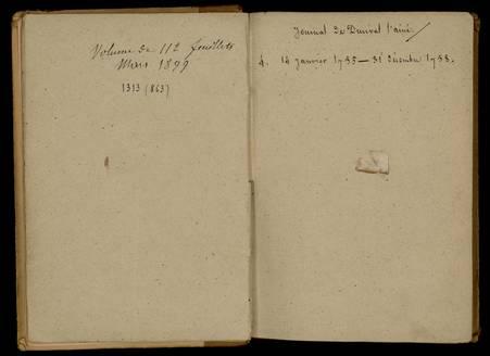 Journal de Durival l'aîné. 4 : 14 janvier 1755 - 31 décembre 1758
