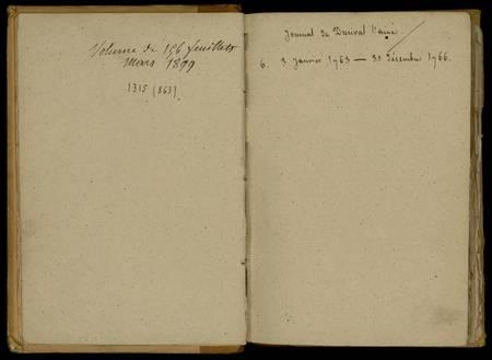 Journal de Durival l'aîné. 6 : 3 janvier 1763 - 31 décembre 1766