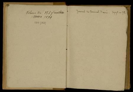 Journal de Durival l'aîné. 1771-72