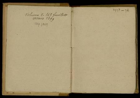 Journal de Durival l'aîné. 1773-74