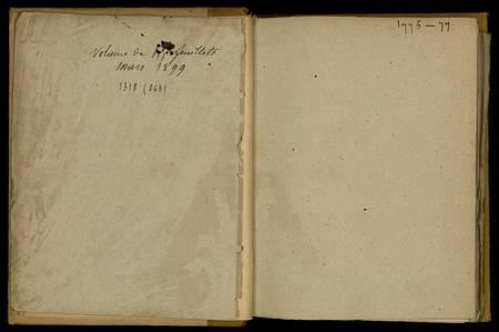 Journal de Durival l'aîné. 1775-77
