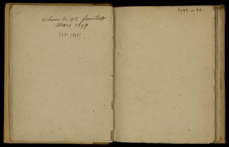 Journal de Durival l'aîné. 1792-95