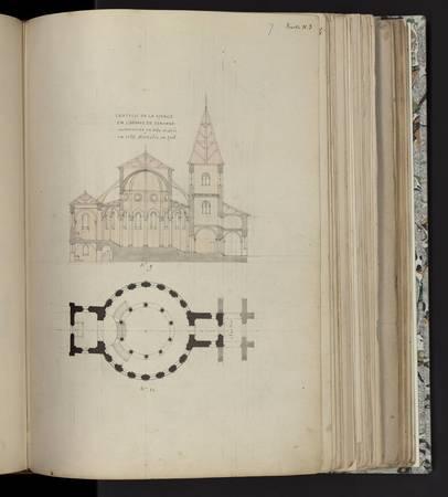 Chapelle de la vierge en l'abbaye de Sénones