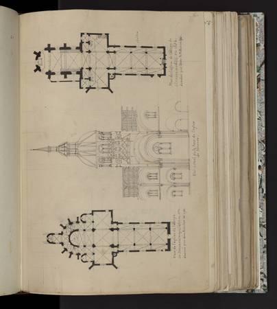 Etat actuel de la tour de l'église de Sénones