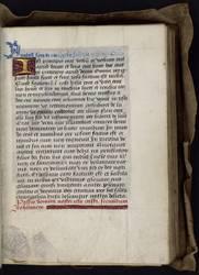 Livre d'heures à l'usage de Rome pour la famille Des Fours