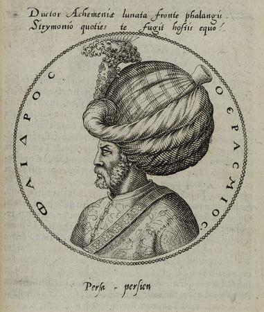 Buste tourné de profil à gauche de Phoedrus Erasmius