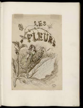 Fleurs animées / J.J. Granville