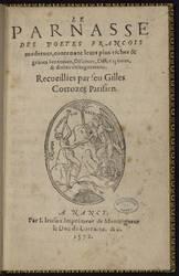 Le Parnasse des poetes francois modernes, contenant leur plus riches &…
