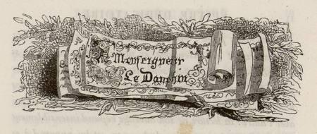Fables de La Fontaine : A monseigneur le dauphin