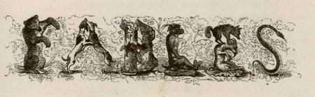 Fables de La Fontaine : titre du tome I
