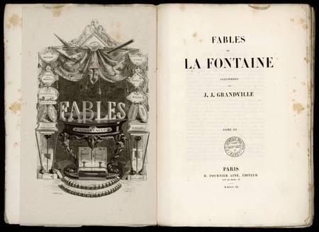 Fables de La Fontaine. Tome III