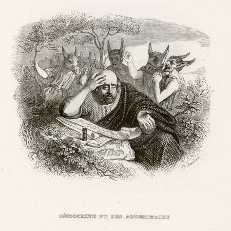 Démocrite et les Abdéritains