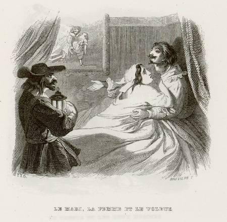 Le mari, la femme et le voleur