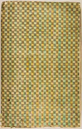 Papier dominoté à décor géométrique