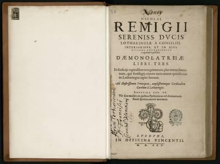 Daemonolatreiae libri tres. Ex judiciis capitalibus nogentorum plus minus …