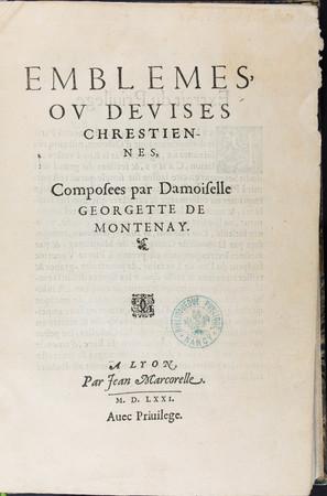 Emblèmes, ou devises chrestiennes