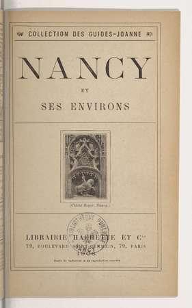 Nancy et ses environs : exposition de 1909