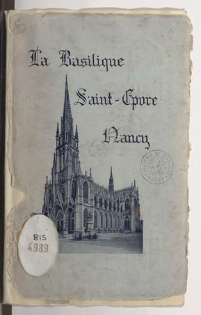 La Basilique Saint-Epvre de Nancy