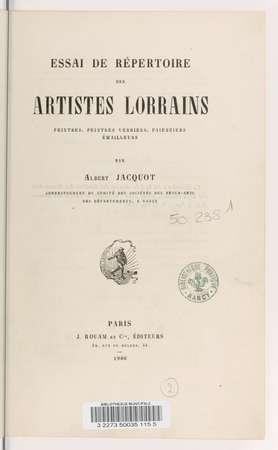 Peintres, peintres verriers, faïenciers, émailleurs