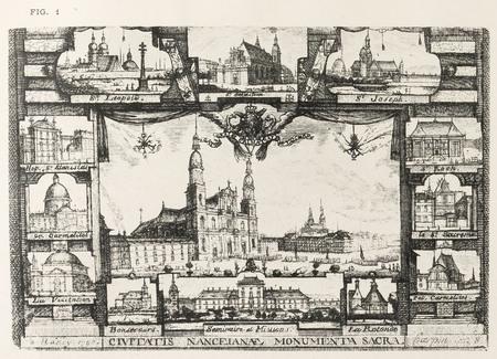 Nancy, sous le règne de Stanislas : civitatis nanceianae monumenta sacra