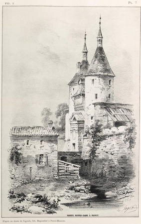 Porte Notre-Dame à Nancy