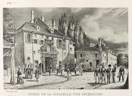 Porte de la citadelle : vue intérieure