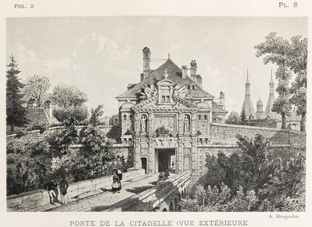 Porte de la citadelle : vue extérieure