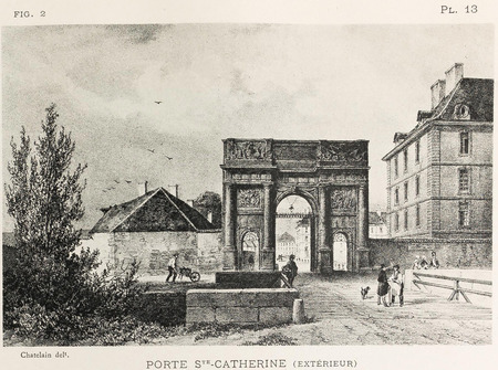 Porte Ste-Catherine