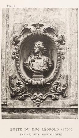 Buste du duc Léopold