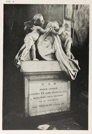 Bonsecours : mausolée du coeur de Marie Lesczinska