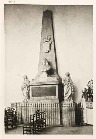 Chapelle des Cordeliers : tombeau du duc Léopold
