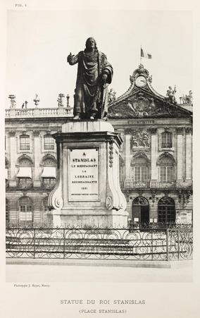 Statue du roi Stanislas
