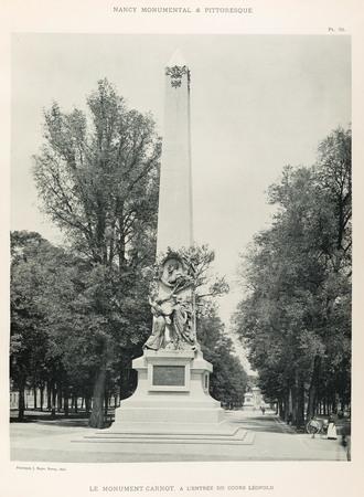 Le monument Carnot