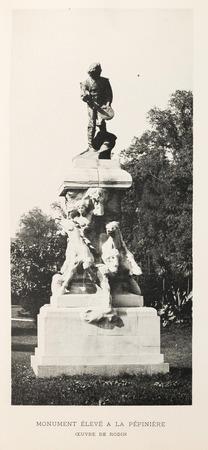 Claude Gellée : monument élevé à la pépinière