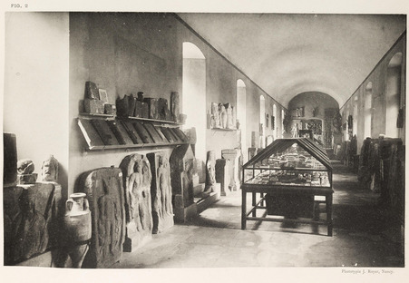 Galerie des antiques au musée lorrain