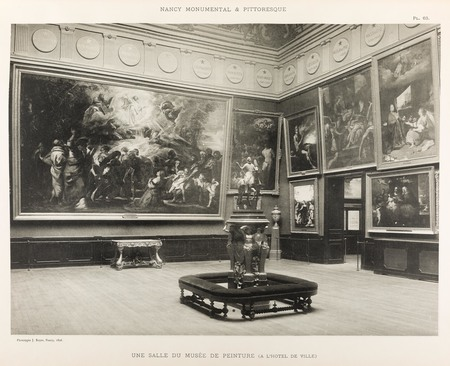 Une salle du musée de peinture