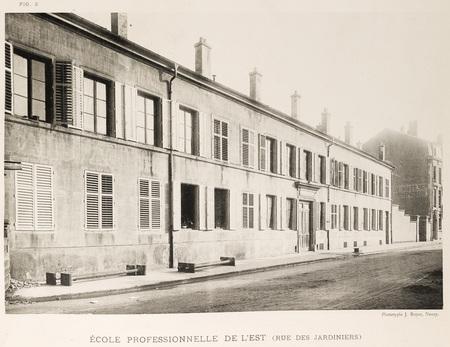 École professionnelle de l'Est : rue des jardiniers