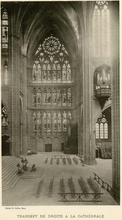 Transept de droite à la cathédrale