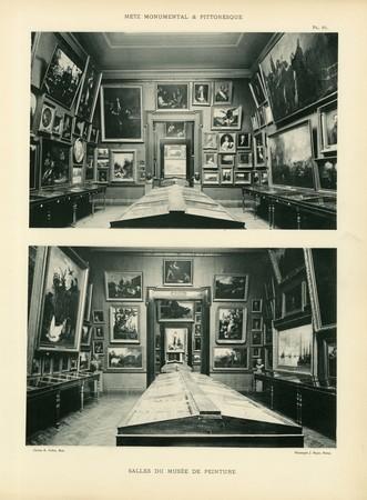 Salles du musée de peinture