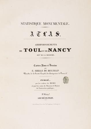 Statistique monumentale : atlas : arrondissements de Toul et de Nancy, dép…