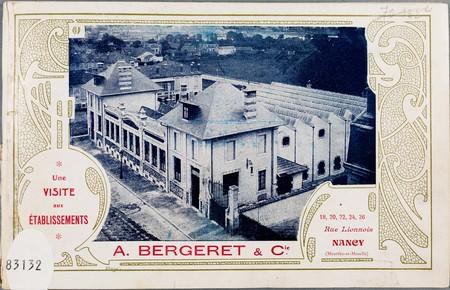 Une visite aux établissements A. Bergeret & Cie