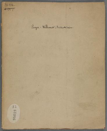Soyer-Willemet, bibliothécaire