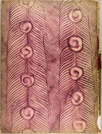 Papier décoré à la colle